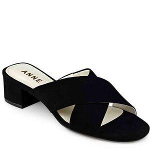 🆕NWOT Anne Klein Sansa Black Sandals